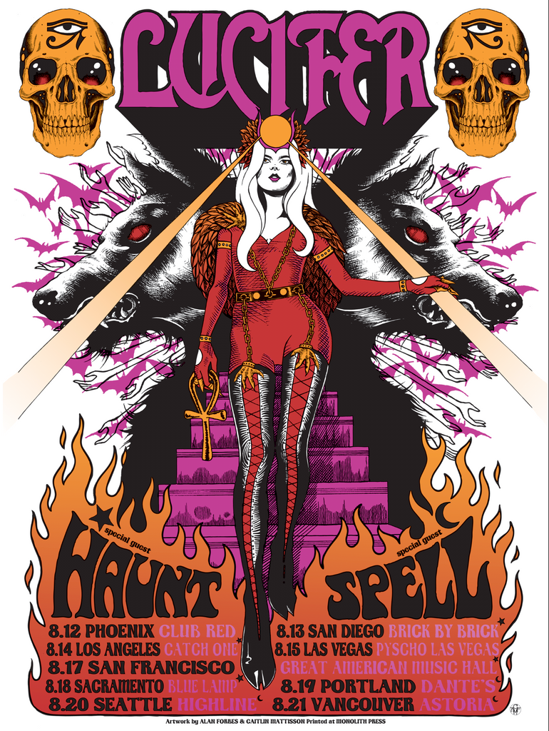 LUCIFER tour 2019 by Alan Forbes & Caitlin Mattisson