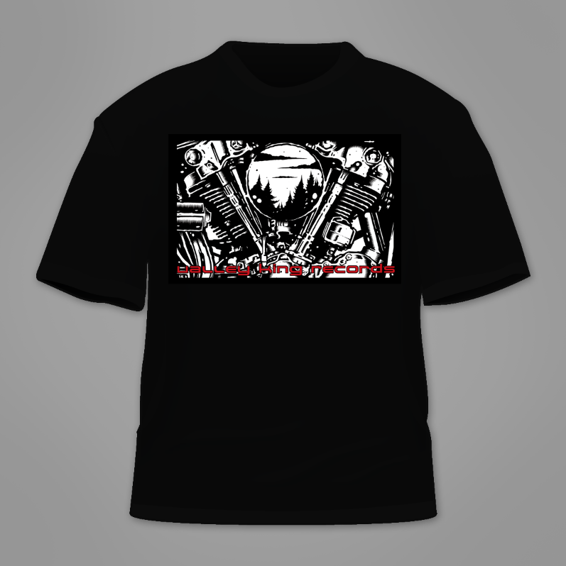 VALLEY KING RECORDS - shirt