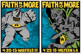 FAITH NO MORE - SF (night 2) / LA (night 1) matched numbered set by Alan Forbes