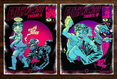 FAITH NO MORE - Chicago / Toronto artist proof set by Zombie Yeti