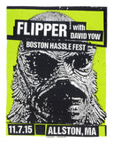 FLIPPER - Boston 2015 by Print Mafia