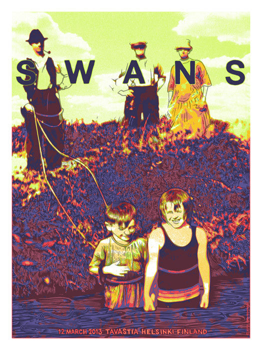 SWANS - Helsinki 2013 by John Howard