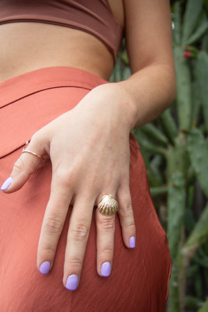 Sunrise Shell Ring