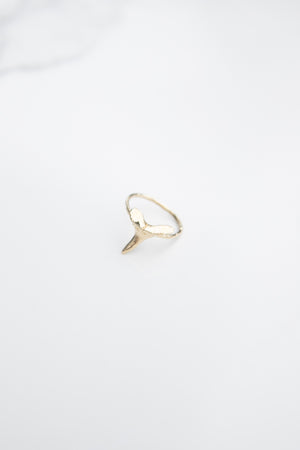 Baby Mako Shark Tooth Ring