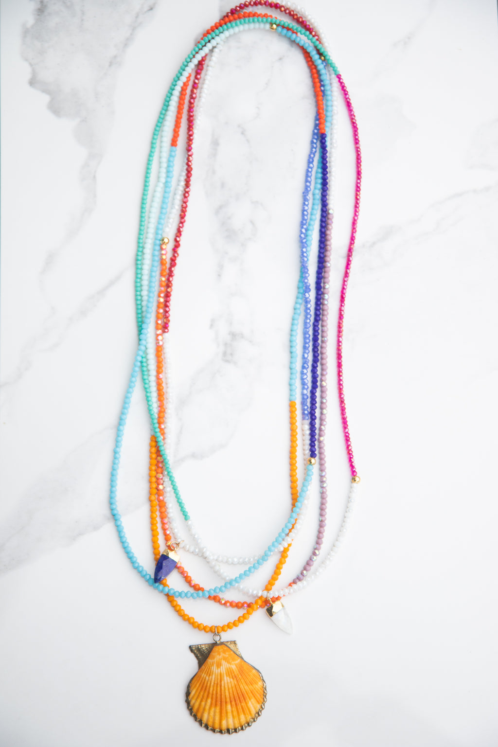 Island Multicolor One of a Kind Necklaces