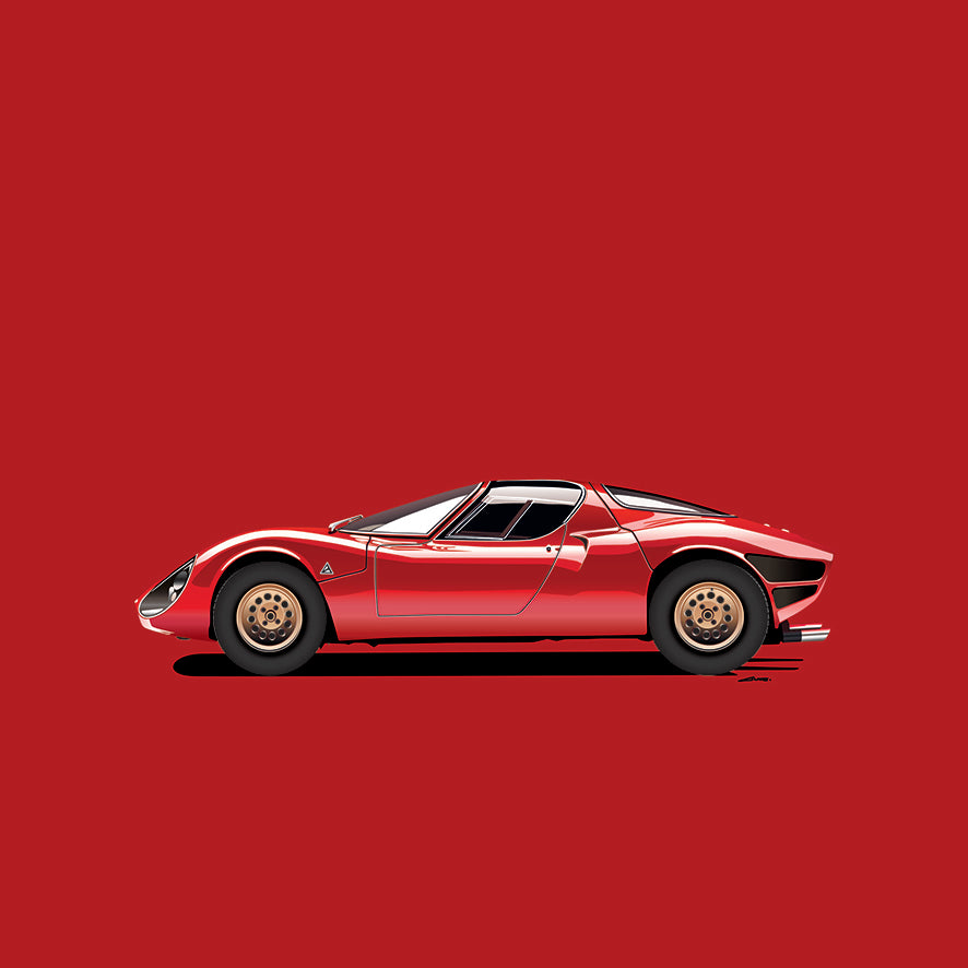 Illustration Alfa Romeo 33