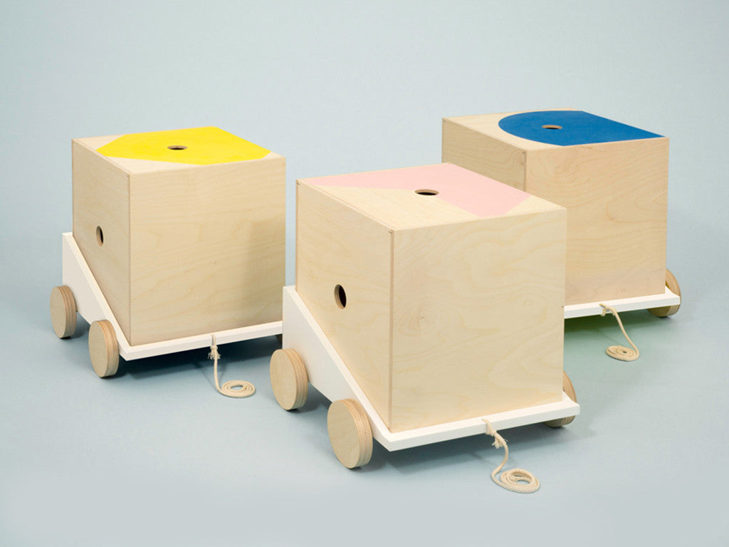 Studio delle Alpi | Wooden design furniture 'The Cargo Line'