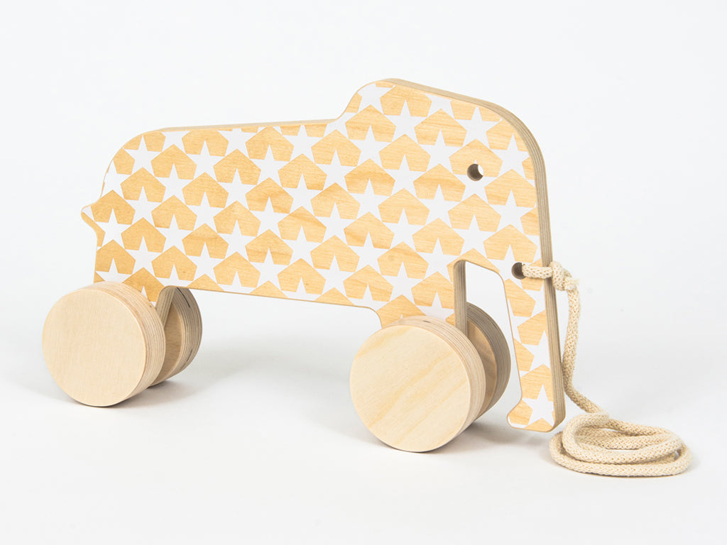 Studio delle Alpi | Wooden design toy Eddy the Elephant scandinavian