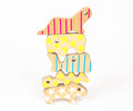 Studio delle Alpi | Wooden animal toy figures 'The five Buddies'