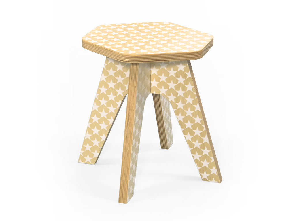 Peachy The Milk Stool White Stars Gmtry Best Dining Table And Chair Ideas Images Gmtryco