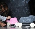 Studio delle Alpi | Wooden pull toy Gina the Turtle chalkboard