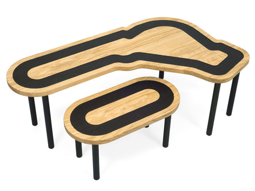 Temples of Speed - Wood table set | Studio delle Alpi