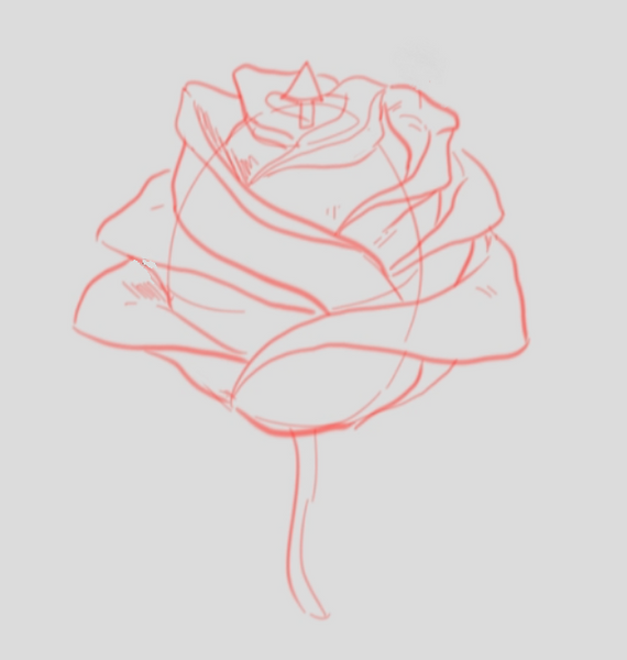 How To Draw A Rose: A Drawing Lesson With A Step By Step Guide (Alternative A)