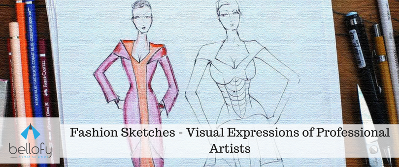 Fashion Sketches - Visual Expressions of Professional Artists