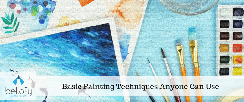 Basic Painting Techniques Anyone Can Use