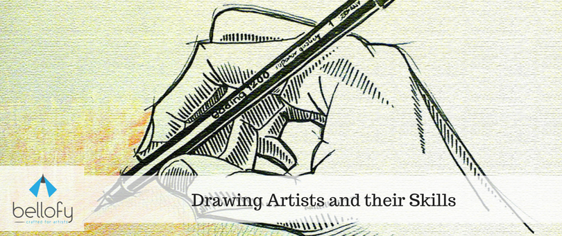 Drawing Artists and their Skills