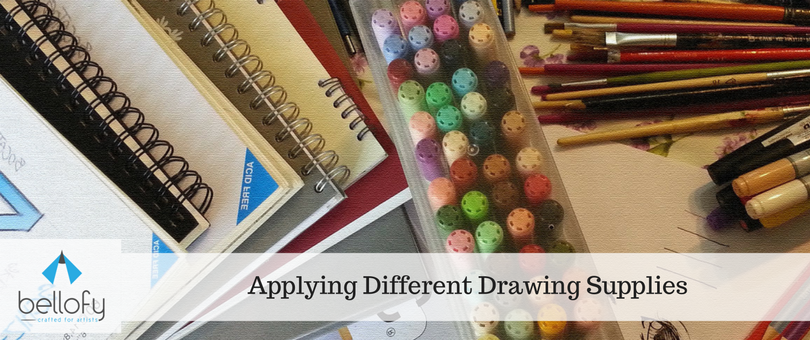 Applying Different Drawing Supplies