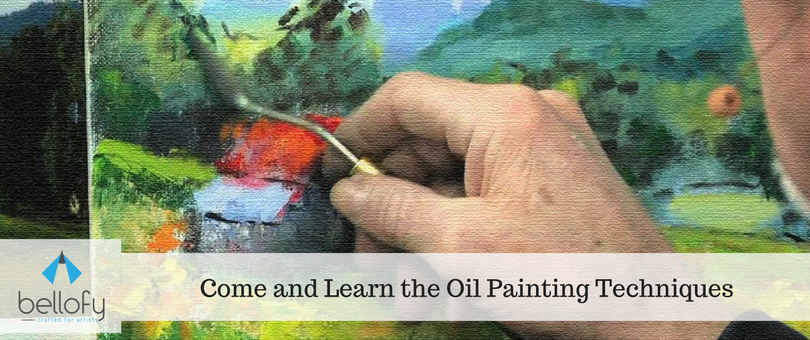 Come and Learn the Oil Painting Techniques