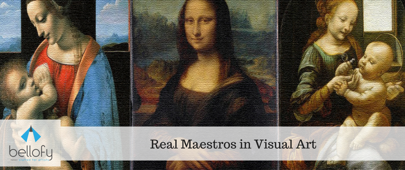 Real Maestros in Visual Art