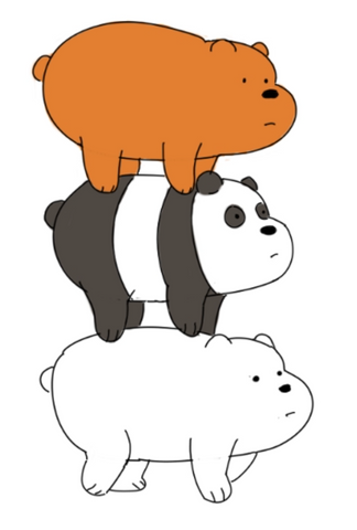 How To Draw We Bare Bears - Bring Them to Life With Color Coloring Our Sketches From Cartoon Network