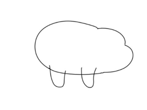 How To Draw We Bare Bears - Drawing Legs And Adding Details To The Bear With The Letter U