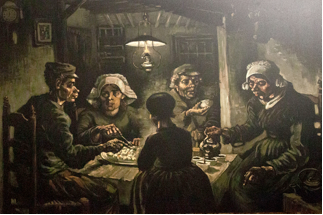 The Potato Eaters by Van Vogh