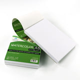 Bellofy 50 Sheet A5 Set of 2 Watercolor Paper Pad - Cold Press Paper
