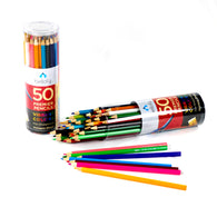 50 Colored Pencils for Adults & Kids - Coloring Pencils Set for Adult & Kids