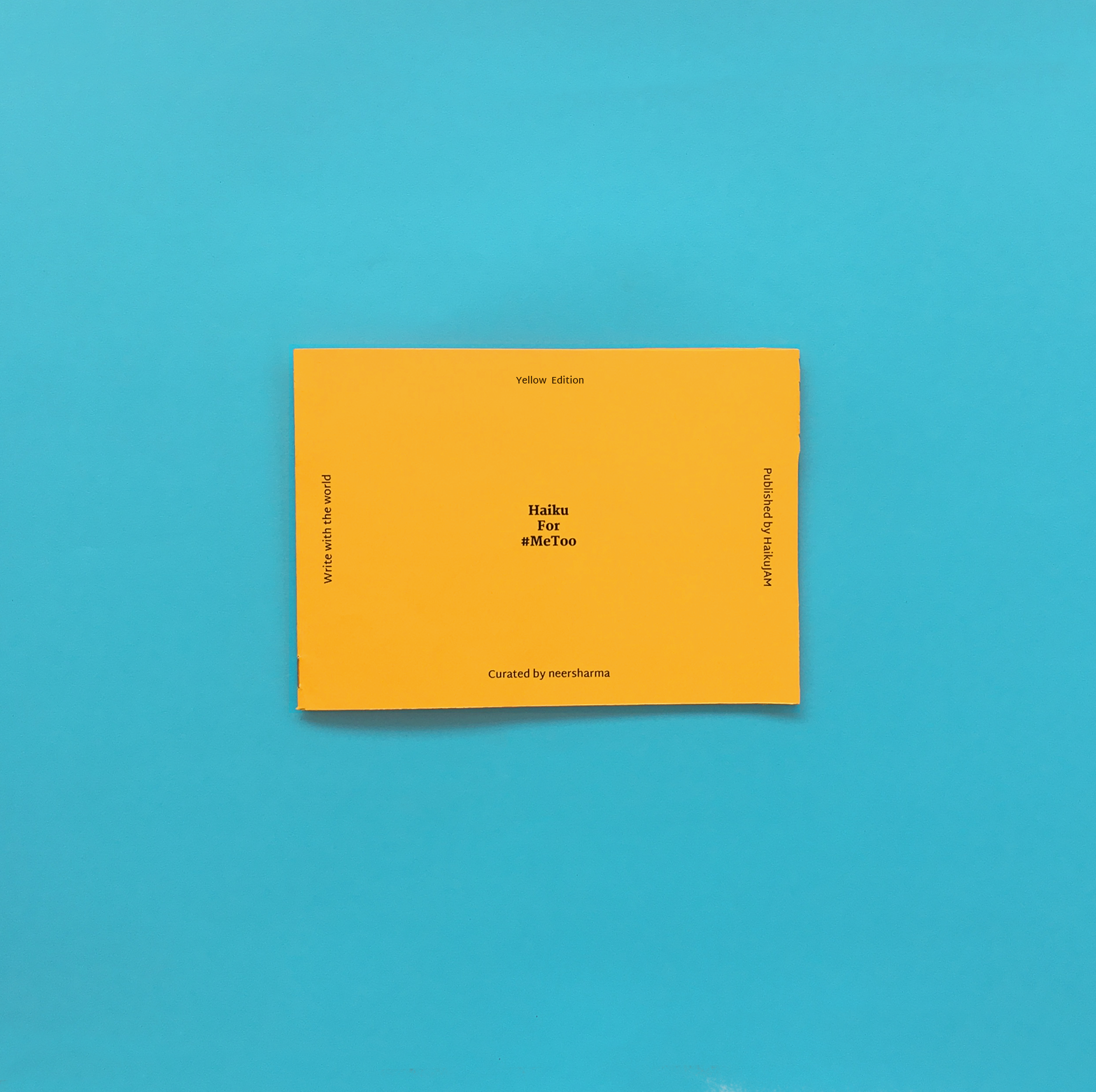 Make-Your-Own Haiku Book | Yellow Edition