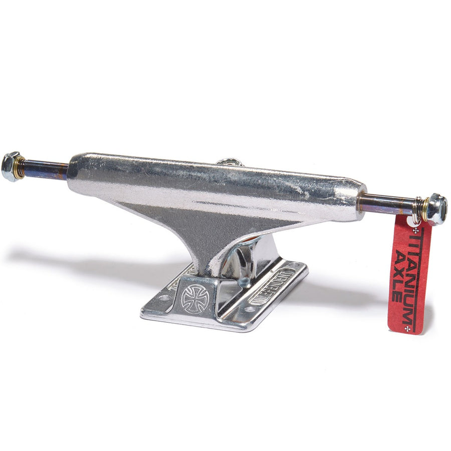 Independent Forged Titanium Skateboard Trucks - Krudco. Skateshop