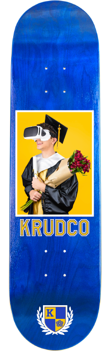 Krudco Shop Deck Virtual Graduation Tom Harris