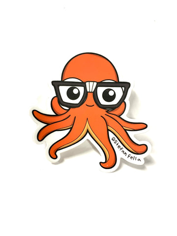 Stefan Fella Octopus Stickers