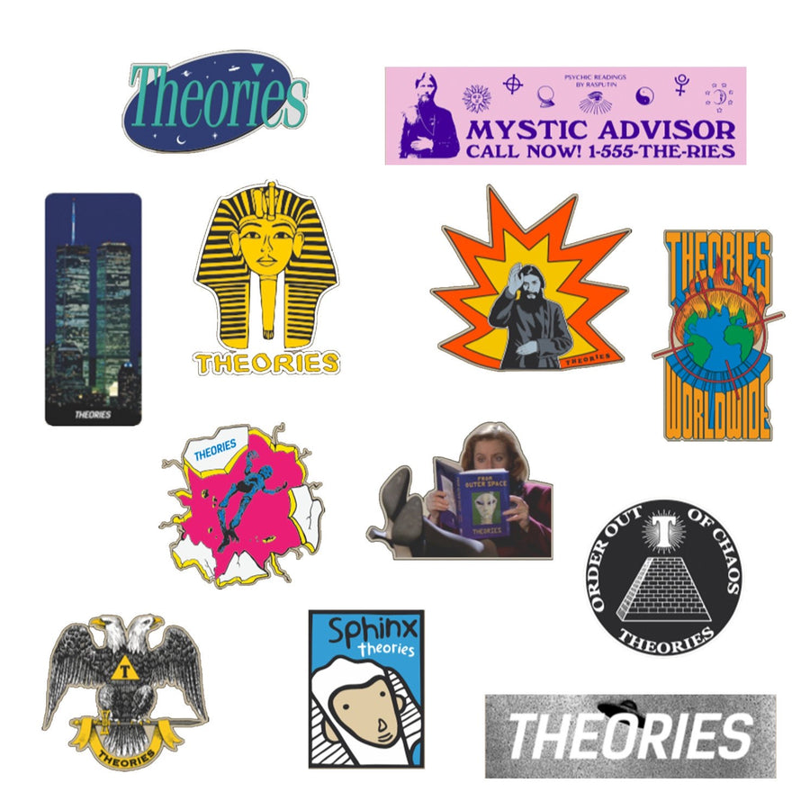 Theories of Atlantis Skateboards Rarities Sticker Pack