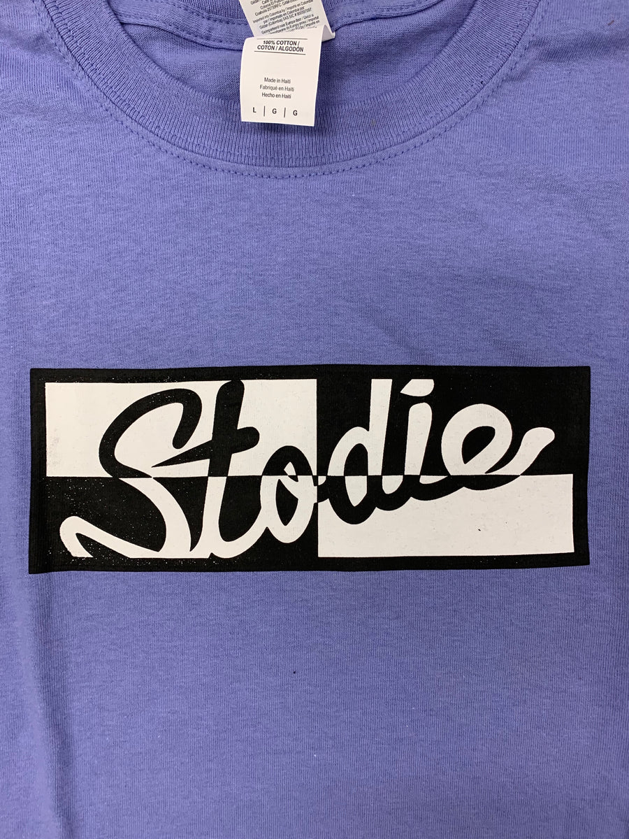 Stodie Skateboards 4 Block Logo T-Shirt