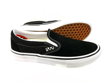 Vans Skate Shoe Slip-On Black White