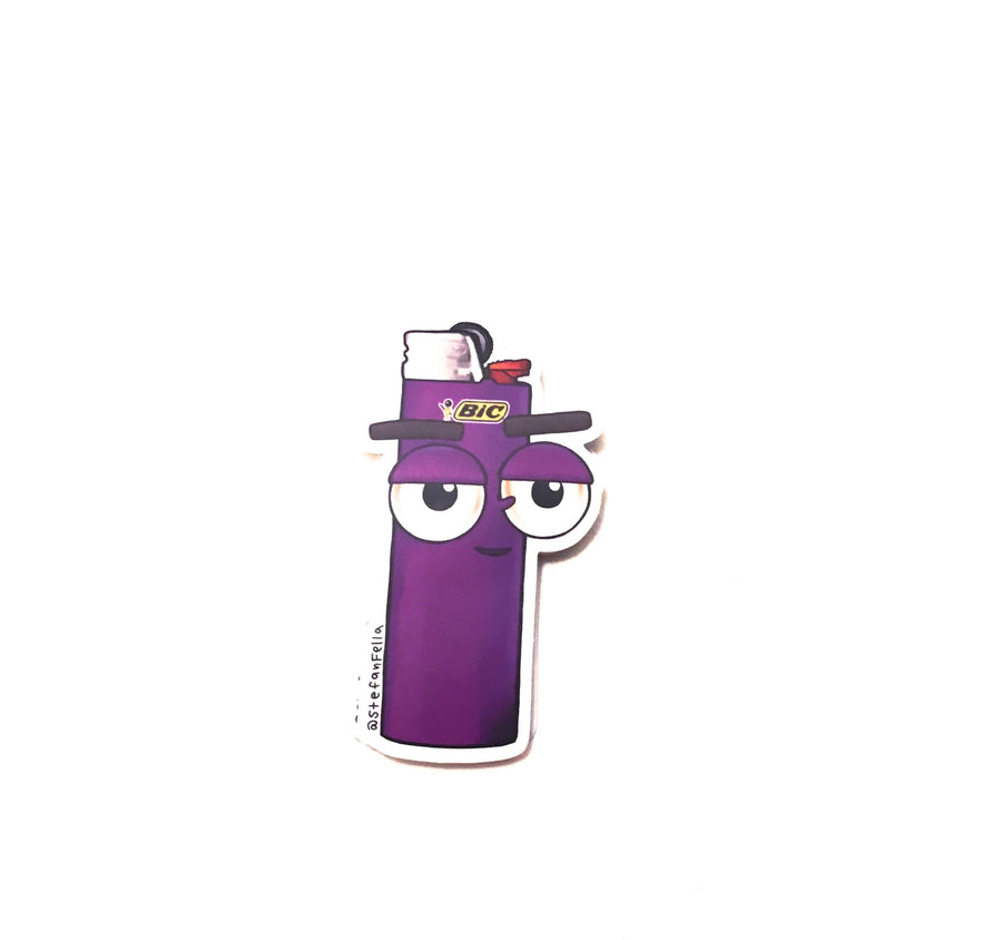 Purple lighter