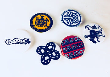 Krudco. Skateshop - Skate Stickers Patches Pins Rochester, NY