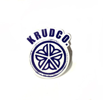 Krudco Patch Flower City Logo Sticker