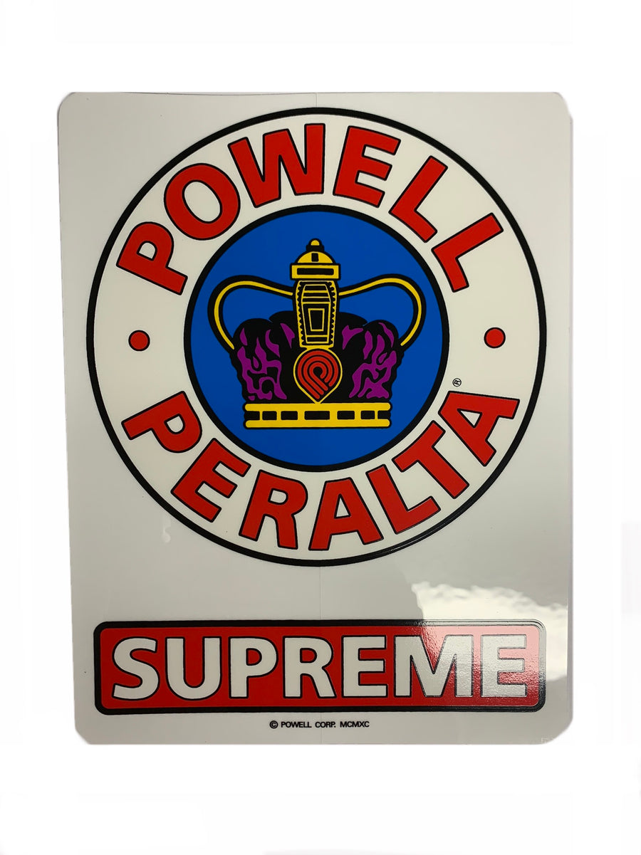 Powell Peralta Skateboards Supreme OG Sticker