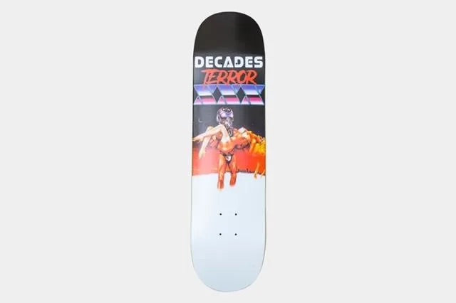 Terror Of Planet X Skateboards TOPX Decades Fantasty Deck 8.0