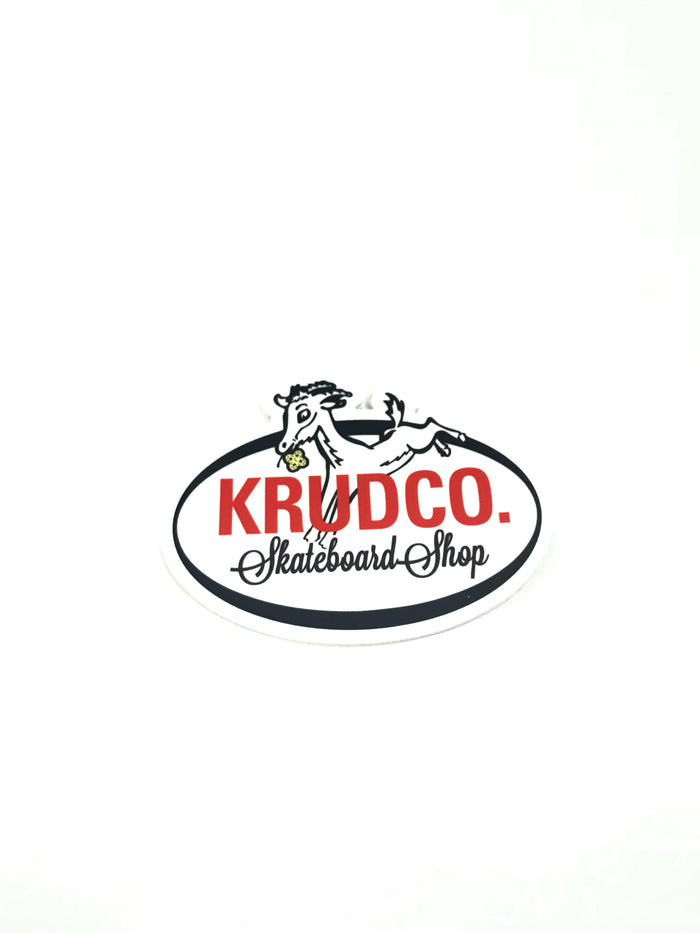 Krudco. Bock Sticker