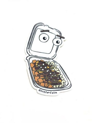 Stefan Fella Garbage Plate Sticker