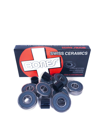 Bones Swiss Ceramic Competition Bearing - Krudco. Skateshop