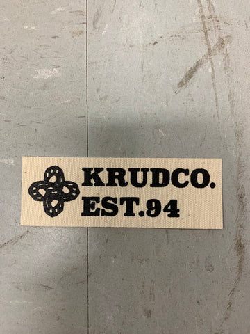 Krudco. Skateshop Est. 94 Punk Patch