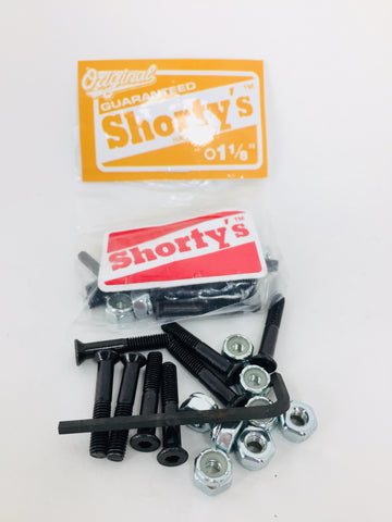 "Shorty's 1 1/8"" Allen Hardware"