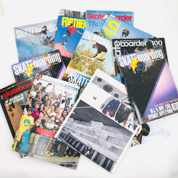 5 Pack of mystery Skate Magazines - Krudco. Skateshop
