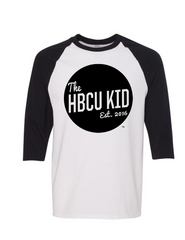 HBCU Kid Badge Adult Raglan Tee