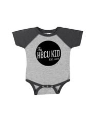 HBCU Kid Badge Raglan Onesie