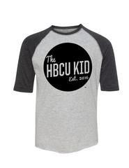 HBCU Kid Badge Youth Raglan Tee
