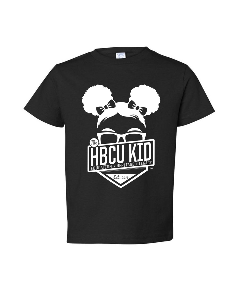 HBCU Kid Girl Toddler Tee - The HBCU Kid